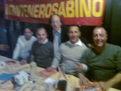 <p>Max Leggeri, Angelo di Livio, Stefano Desideri, Fabio Petruzzi</p>