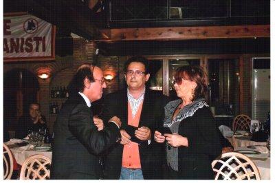 Vittorio con igenitori di Aquilani